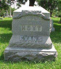 Mary Elizabeth <i>Hoyt</i> Evans