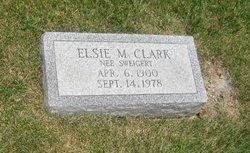 Elsie M <i>Sweigert</i> Clark