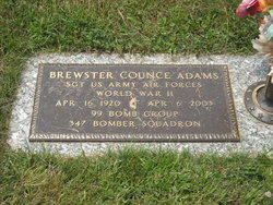 Brewster Counce Adams