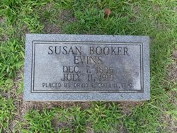 Susan Catherine <i>Booker</i> Evins