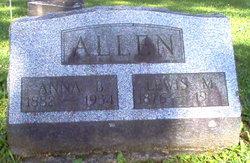 Anna Belle <i>Daggett</i> Allen