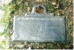 Permelia Catherine <i>Mayfield</i> Henderson