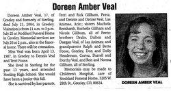 Doreen Amber Veal