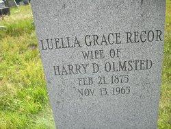 Luella Grace <i>Recor</i> Olmsted