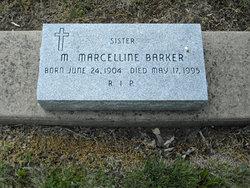 Sr M. Marcelline Barker