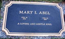 Mary I Abel
