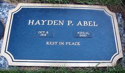 Hayden P Abel