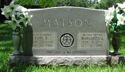 Margaret A Matson