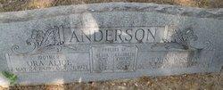 Ora Alice <i>Chenault</i> Anderson