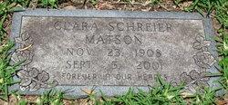 Clara <i>Schreier</i> Matson