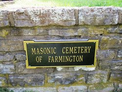 Masonic Cemetery of Farmington (South)