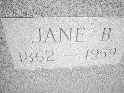 Jane <i>Baker</i> Allen