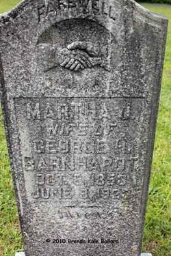 Martha Jane <i>Tucker</i> Barnhardt