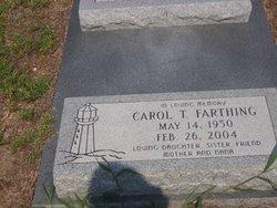 Carol Sue <i>Thornton</i> Farthing