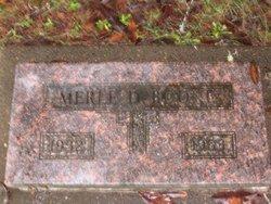Merle D Boone
