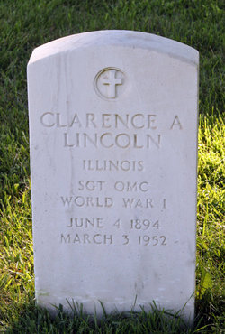 Clarence A Lincoln