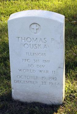 PFC Thomas P Ouska