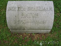 Bertha <i>Young Brakeman</i> Hatch