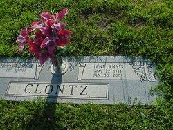 Jane <i>Annis</i> Clontz