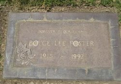 Boyce Lee Foster