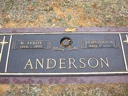 R Leroy Anderson