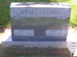 Anna L <i>Carlson</i> Armstrong