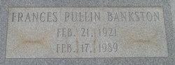 Nellie Frances <i>Pullin</i> Bankston