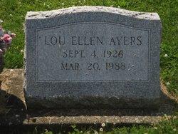 Lou Ellen <i>Blaydes</i> Ayers