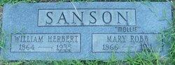 Mary Mollie <i>Robb</i> Sanson