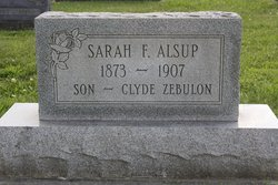 Sarah F. Sadie <i>Collins</i> Alsup