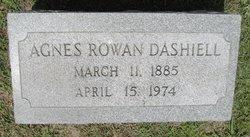 Agnes <i>Rowan</i> Dashiell