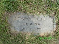 Roosevelt T Gill