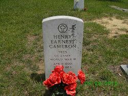 Henery Earnest Cameron