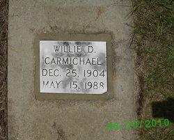 Willie D Carmichael