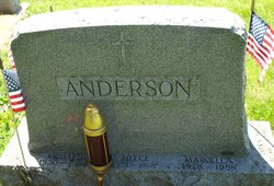 Marcella Mary <i>Hendricks</i> Anderson