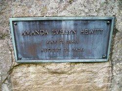 Amanda Evelyn <i>Brower</i> Hewitt