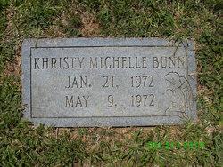 Khristy Michelle Bunn