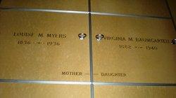 Virginia <i>Myers</i> Baumgarten