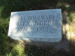 Olive L <i>Boulware</i> Alexander