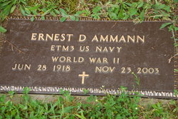 Ernest D Ammann