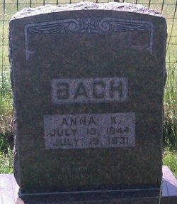 Anna K Bach