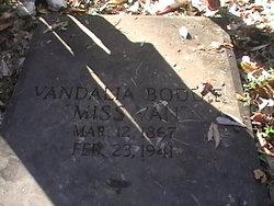 Vandalia Miss Van Boddie