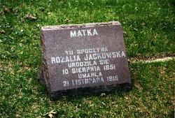 Rosalia <i>Soda</i> Jackowski