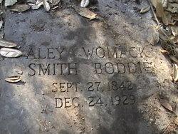 Aley Womack <i>Smith</i> Boddie