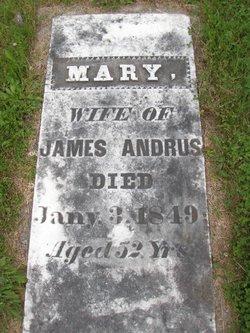 Mary <i>Spiers</i> Andrus