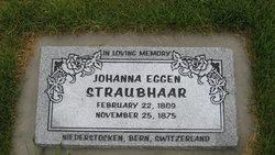 Johanna <i>Eggen</i> Straubhaar