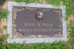 Hazel Webb <i>Mason</i> Bailey