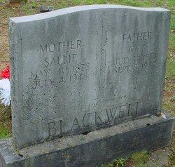 Sarah F. Sallie <i>Sanders</i> Blackwell