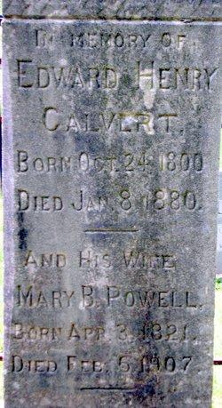 Mary B <i>Powell</i> Calvert