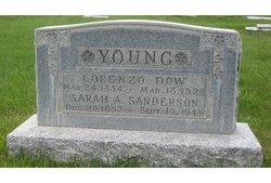 Sarah Ann <i>Sanderson</i> Young